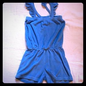 Like new Hanna Andersson terry romper